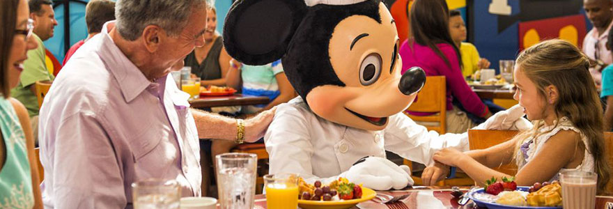 restaurant de Mickey