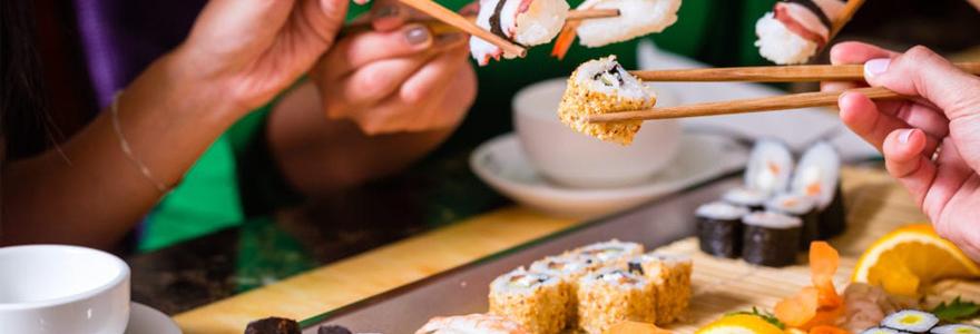 vente de sushi à Grenoble